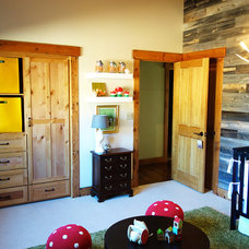Rustic Kids Mountain home nursery project