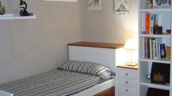 mueble de dormitorio y cocina