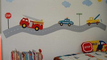 Murals for Kids' Rooms