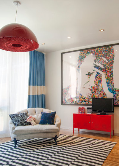 My Houzz: A Basketball Court, a Rooftop Kitchen and More in Manhattan