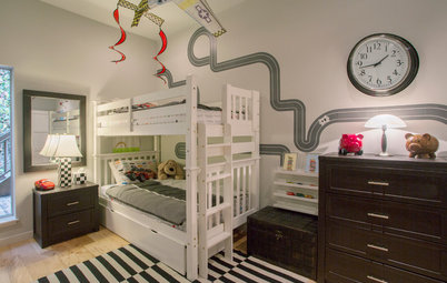 My Houzz: A Shared Boys' Bedroom That's Right on Track