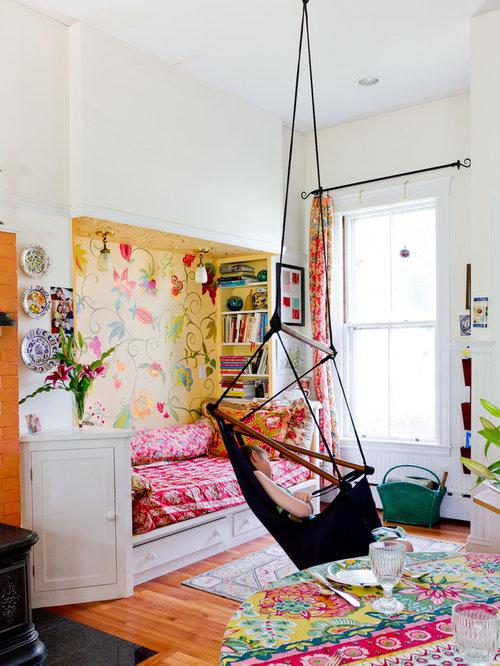 eklektische m dchenzimmer ideen design houzz. Black Bedroom Furniture Sets. Home Design Ideas