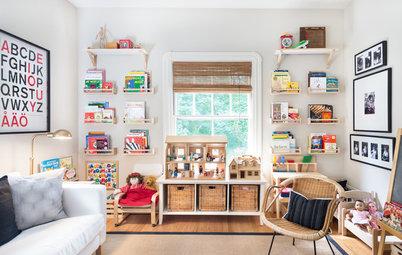8 Ideas for Children's Bookshelves