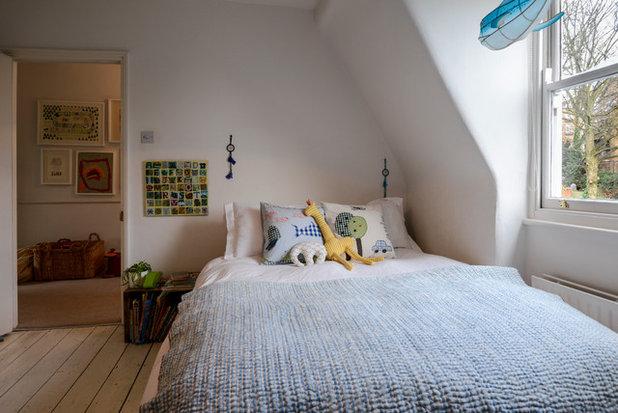 Eklektisch Kinderzimmer My Houzz: Casual Comfort in a London Victorian