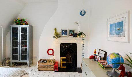 Que faire d'une cheminée inutilisée dans une chambre d'enfant ?
