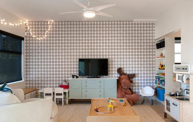 コンテンポラリー 子供部屋 by Heather Merenda
