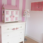 Tea Party Girls Room Eclectic Kids Dallas By The