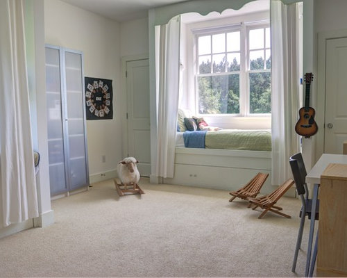 Window seat bed houzz Window seat house