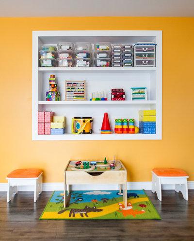 Modern Kinderzimmer by Becki Peckham