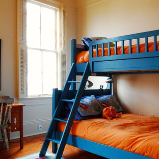 Inspiration for a timeless boy kids' room remodel in New York