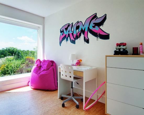 Graffiti Bedroom Houzz