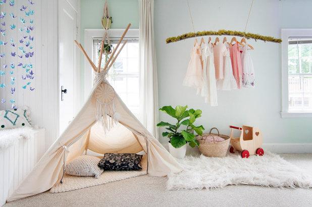 Ecléctico Dormitorio infantil by Alexandra Crafton