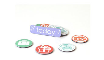 """""""My Lil' Schedule"""" Accessory Pack for Co-Parenting Calendar"""