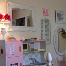 Traditional Kids My Pink Little Girls Room by Linda Hilbrands