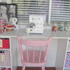 eclectic kids my vintage look sewing room
