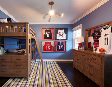 NBC's George To The Rescue - The Lederman Family, Westfield: Boy's Room
