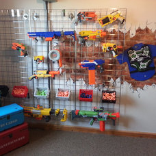 Industrial Kids Nerf Bedroom