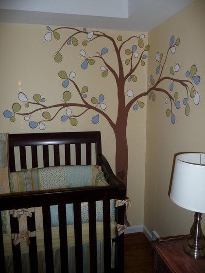 Traditional Kids Neutral nursery