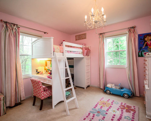 Girls Loft Bed | Houzz