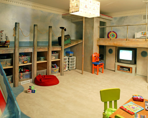 Best Nautical Playrooms Design Ideas u0026 Remodel Pictures : Houzz