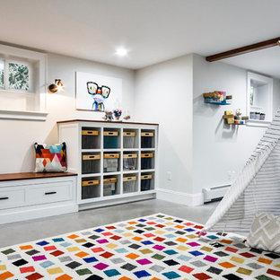 NJ Country House - Modern Farmhouse Playroom / Craft Room