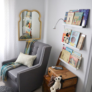 This is an example of a contemporary kids' room in Omaha.