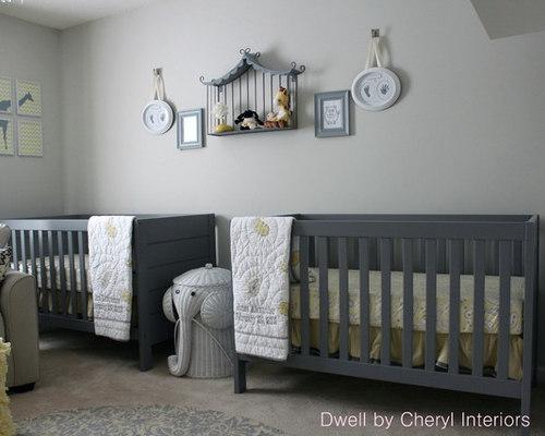 Yellow And Gray Nursery Houzz
