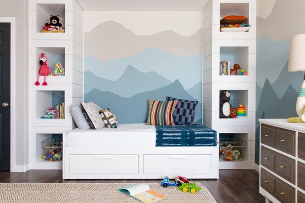 Good Transitional Kids by Rebecca Interiors u Design by Numbers