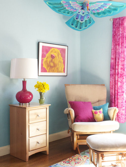 Tie Dye Curtain Home Design Ideas, Pictures, Remodel and Decor