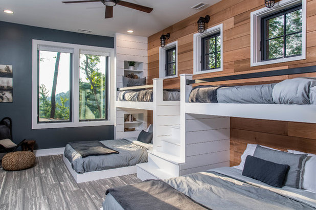 Rustic Kids by Living Stone Design + Build