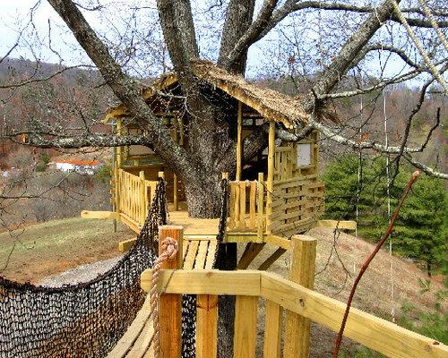 Как построить своими руками дом на дереве