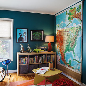 Outer Sunset Boy's Bedroom