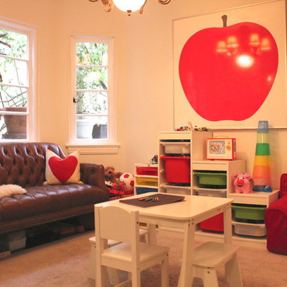 Small Playroom Design Ideas, Pictures, Remodel, and Decor