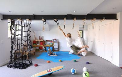 26 Fun-Filled Modern Playrooms