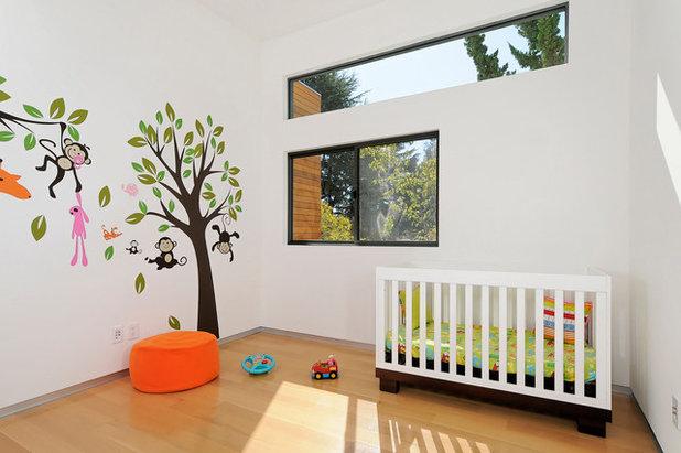 Ideas para decorar con árboles las paredes del cuarto infantil