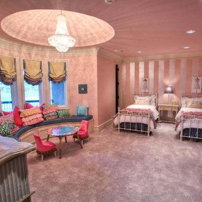 Elegant girl kids' room photo in Oklahoma City