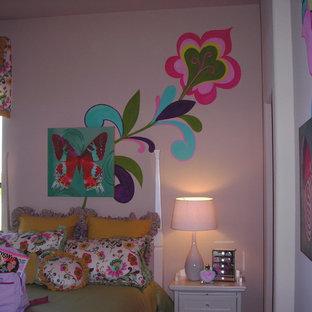 Eclectic kids' room photo in Houston
