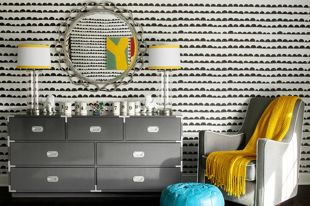 Room Of The Day A Colorful Nursery Plays With Pattern