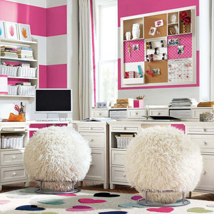 Inspiration for a contemporary kids' room remodel in Other