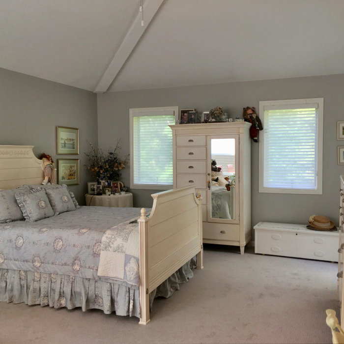 Peaceful & Cozy Cottage Bedroom with Silhouette Shadings