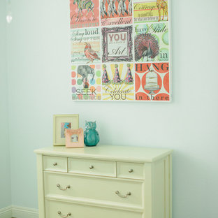 Cottage chic kids' room photo in San Diego