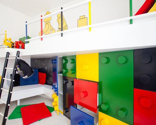 Lego room houzz for Houzz kids room