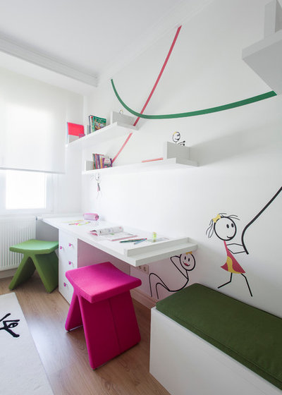 Contemporain Chambre d'Enfant by Neslihan Pekcan/Pebbledesign