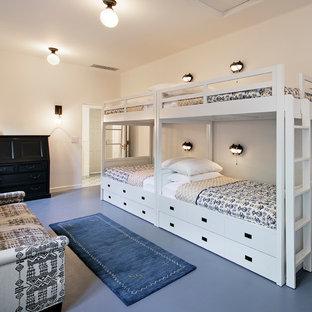 Inspiration for a mediterranean kids' room remodel in Santa Barbara