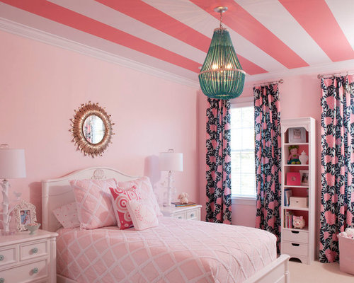Pink bedroom home design ideas pictures remodel and decor for H b bedrooms oldham