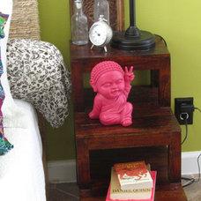 Eclectic Kids Pink Buddha