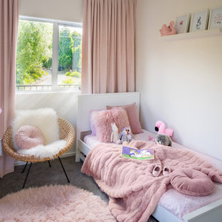 Pink + Pink + Pink Girls Bedroom