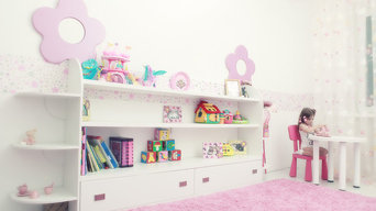 Pink room for little girl