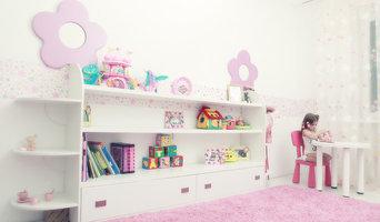 Pink room for little girl