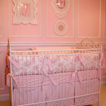 Pink Toile Nursery